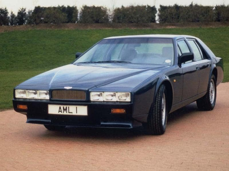 A perfect example of Aston's more idiosyncratic side, the Lagonda was the most technologically advanced car of its time and was maybe not the best choice of car to build immediately after going bankrupt..It had two TVs and used solid state digital displays instead of dials in the dashboard. It was also incredibly fast for a luxury sedan and very quickly attracted orders from the Middle East. However the car was so complex that the company struggled to produce one a week and it took until 1979 to deliver the first finished example. Each car required 2,200 man hours to construct and only 645 were ever produced. Photo:AFP