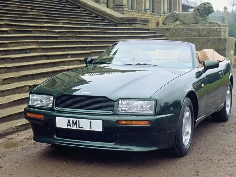 Boasting a 5.3-litre and eventually a 6.3-litre V8 engine and electrically operated mohair roof, the Volante was the first Aston to feature anti-lock brakes. Although praised for its modern styling, many believe that the Virage and the convertible Volante version reflect the company's lowest point. However, their style and proportions provided the foundation for future models and derivatives right up to 2000, by which point the cars were delivering over 550 horsepower. Photo:AFP