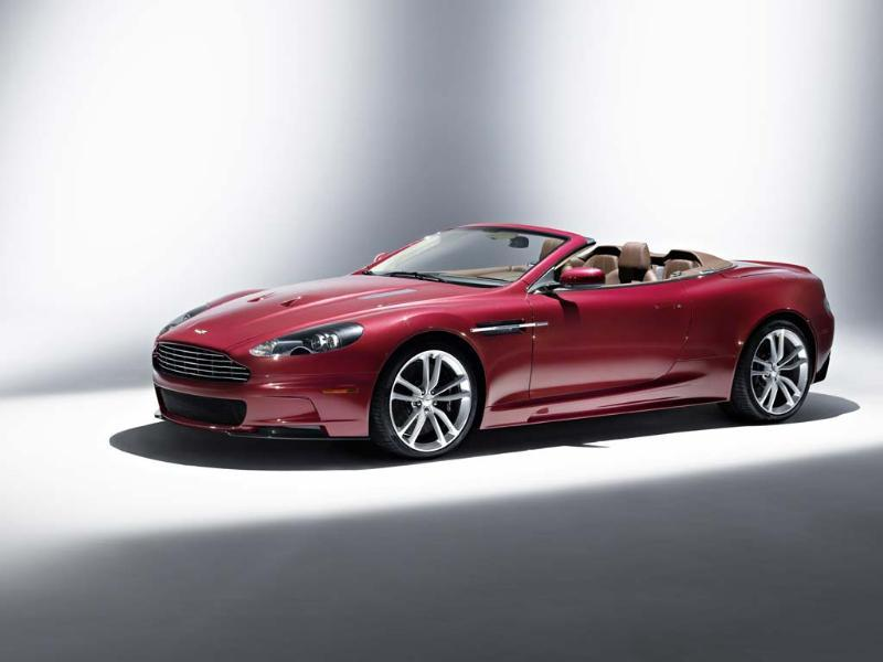 Conceived as a hardcore racing version of the incredibly beautiful DB9, the DBS and convertible DBS Volante were more than adequate replacements for the outgoing Vanquish as flagship models. The most powerful Aston ever built, both versions boasted a six-speed manual transmission, a 5.9-litre V12 engine capable of 190mph and a 0-60mph time of 4.3 seconds. The hardtop version was also James Bond's car of choice in 'Casino Royale' and 'Quantum of Solace.' Photo:AFP