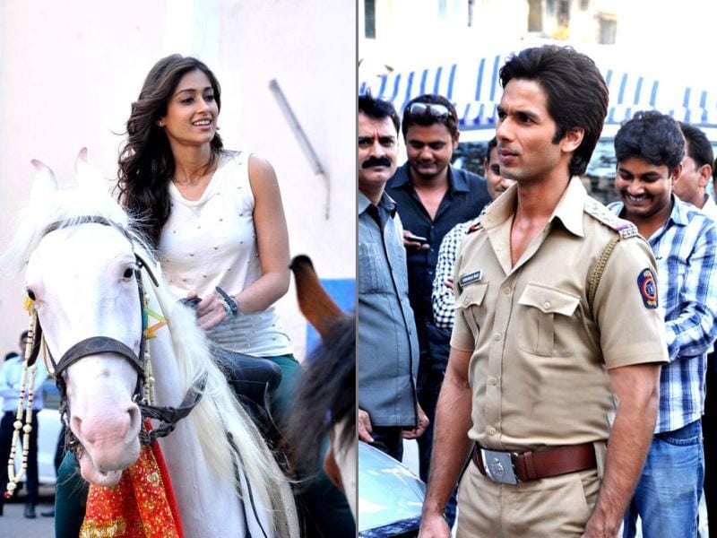 Shahid Kapoor and Ileana D'Cruz's chemistry is to look out for! Here's a sneak peek of the sets of Phata Poster Nikla Hero.