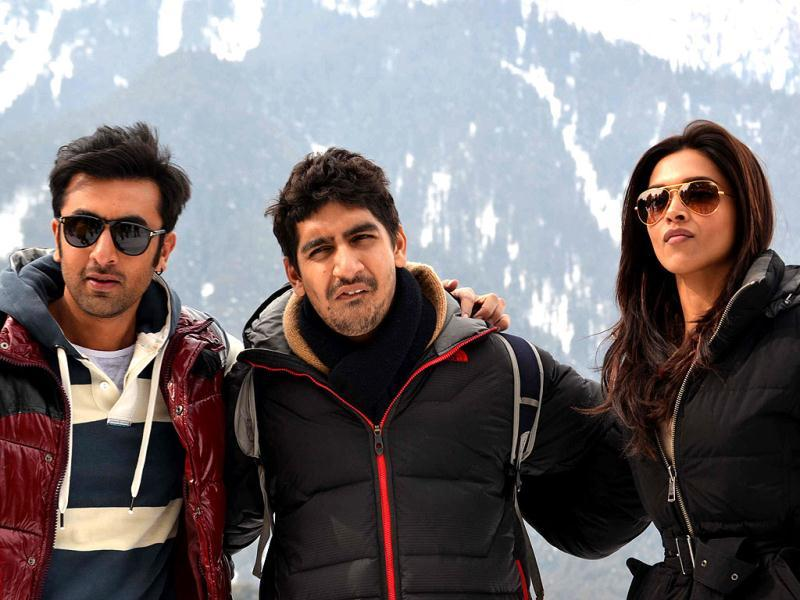 Ranbir Kapoor and Deepika Padukone are shooting a song in the beautiful valley of Kashmir for Yeh Jawani Hai Deewani. (Photo/Waseem Andrabi)