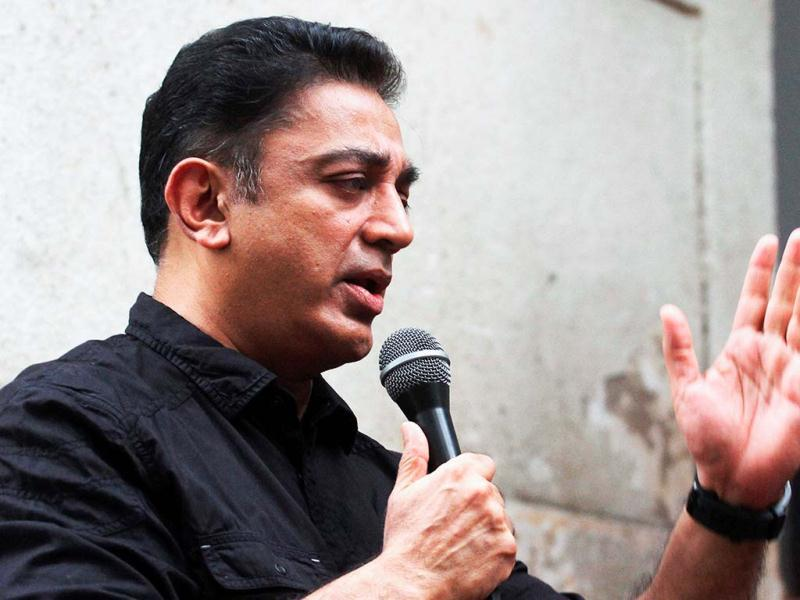 Kamal Haasan was evidently hurt with the allegation of his films being anti-Muslim. In the image, he can be seen addressing a press conference with a grim face. The press conference was in connection with his latest movie Vishwaroopam, in Chennai on January 30, 2013. (UNI Photo)