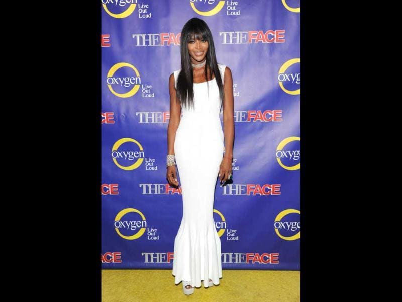 Executive producer and supermodel coach Naomi Campbell attends Oxygen Network's