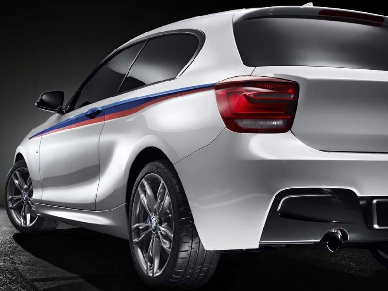 BMW M 135i: At $47,000 this is a 'bargain basement' performance car which offers the benefits of a small family hatchback as well as a suspension set up and turbocharged six-cylinder engine that can pump out 320 bhp, go from 0-60mph (100kph) in 4.9 seconds and yet somehow offer a fuel economy of 35.3mpg and 188g/km of CO2. Photo: AFP