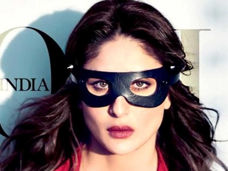 Kareena Kapoor launched her first book at an event on Wednesday. Titled, The Style Diary Of A Bollywood Diva, the book is published by Shobhaa Dé's newly launched firm, Sdé Books. In the image, Kareena Kapoor looks hot in her first photo shoot after marriage. She features on the covers of Vogue magazine.