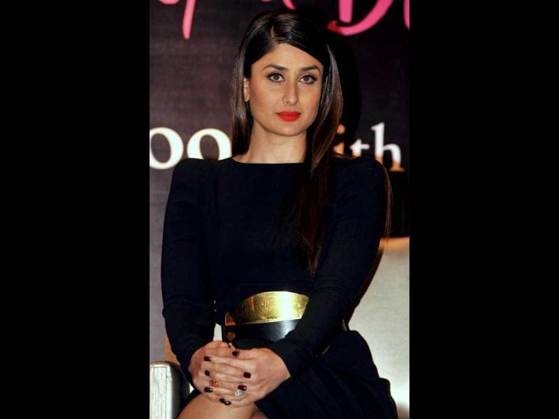 Style icon Kareena Kapoor launched the book The Style Diary of a Bollywood Diva on February 6, 2013. Kareena Kapoor said the diary will help her fans know her better.(AFP PHOTO)