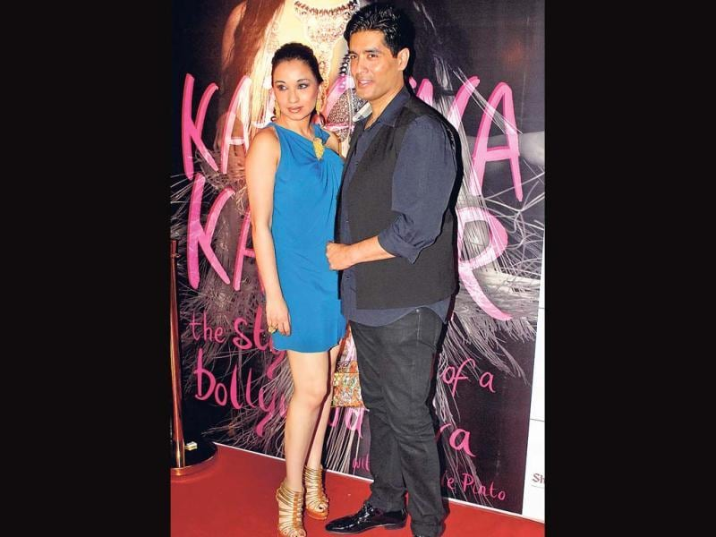 Sheetal Mafatlal and Manish Malhotra at the launch of Style Guide of a Bollywood Diva. Kareena Kapoor launched her first book at an event on Wednesday. The book is published by Shobhaa Dé's newly launched firm.