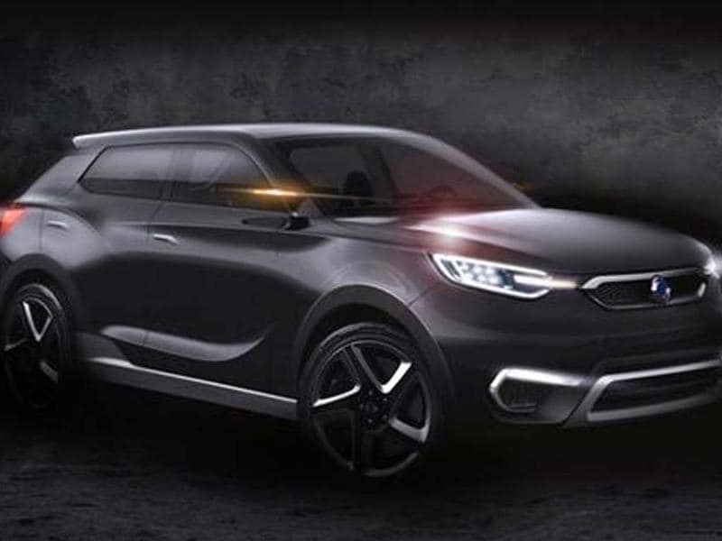 SsangYong SiV1 concept previewed