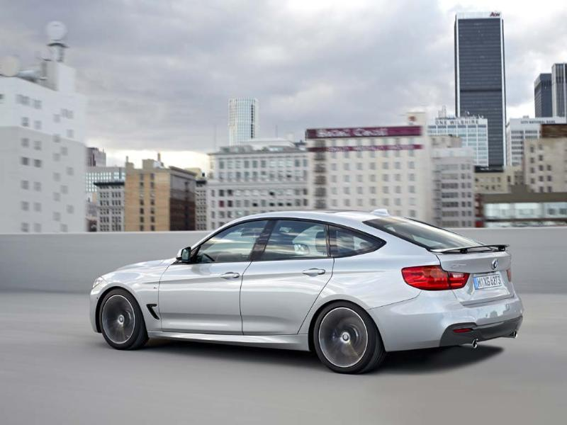 BMW 3-Series GT. Photo:AFP