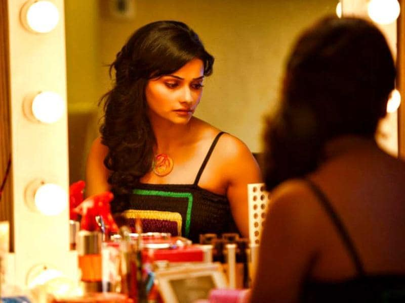 Prachi Desai in a still from her upcoming movie I, Me Aur Main.