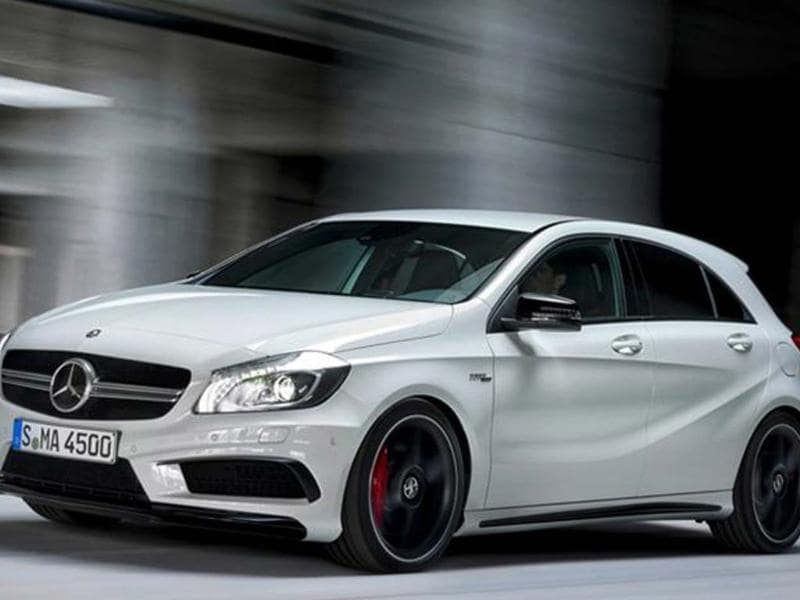 New Mercedes A45 AMG revealed