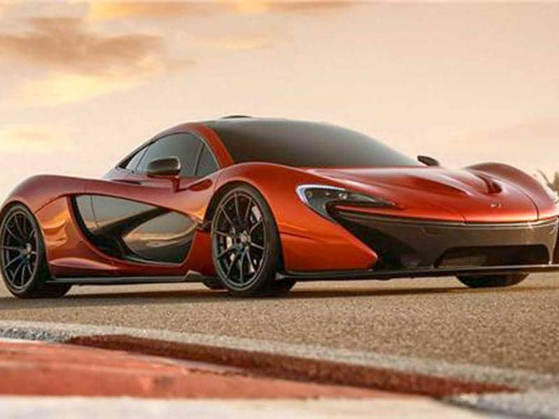 McLaren will launch P1 in UAE