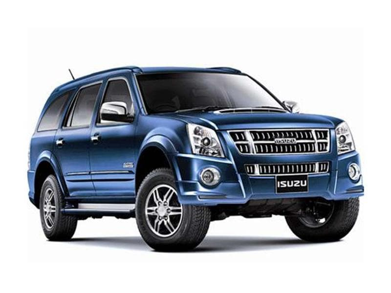 Isuzu MU-7, D-Max bookings begin