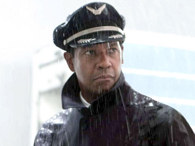 Denzel Washington has once again been nominated for the Academy award for his role in Flight where he plays Whip Whitaker, an airline pilot who saves a flight from crashing.