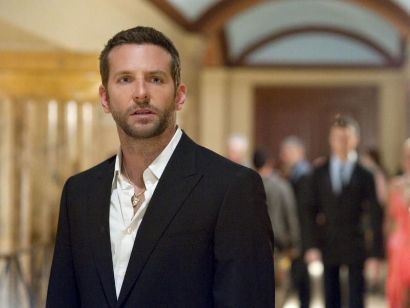 In Silver Linings Playbook, Bradley Cooper plays a former teacher Pat Solitano who moves back in with his parents and tries to reconcile with his ex-wife after a stint in a mental institution.