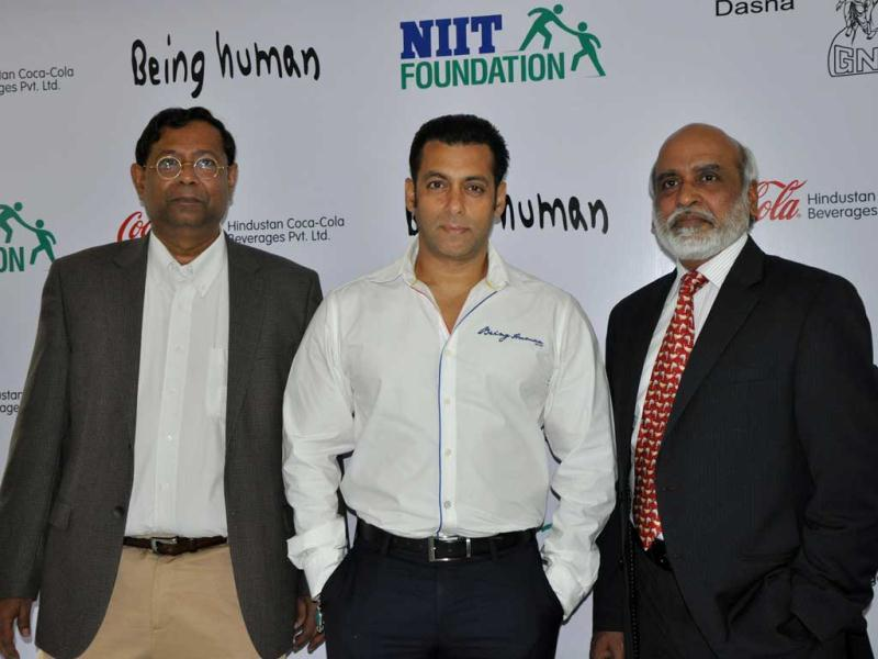 Salman Khan's charitable trust Being Human joins hands with Hindustan Coca-Cola Beverages Pvt. Ltd to scale up Career Development Centre (CDC), an initiative to empower rural, educated and underserved youth.