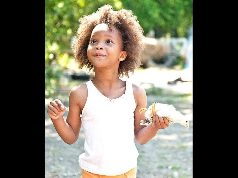 Nine-year-old Quvenzhané Wallis has already bagged a nomination for Best Actress with her touching performance as Hushpuppy in Beasts of the Southern Wild.
