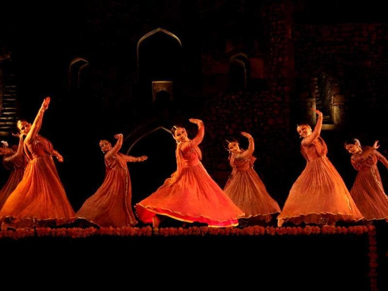 Performance at Purana Qila grounds as part of Ananya fest.