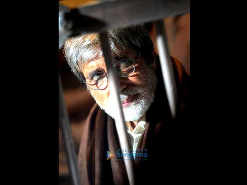 Amitabh Bachchan is apparently playing social activist Anna Hazare in Satyagraha.