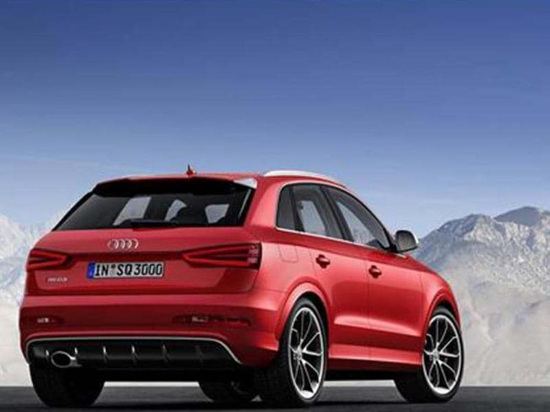 New Audi RS Q3 photo gallery