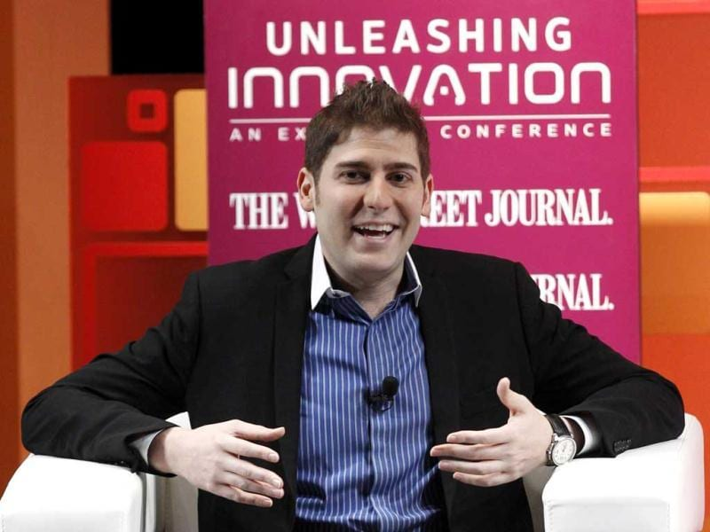 Facebook co-founder Eduardo Saverin speaks at the Wall Street Journal's Unleashing Innovation conference in Singapore. Reuters/Edgar Su
