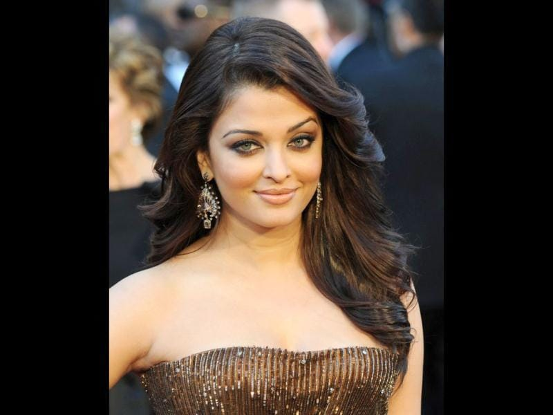 Her own complexion is quite fair, and Aishwarya Rai Bachchan endorses a fairness cream for L'oreal. (AFP PHOTO)