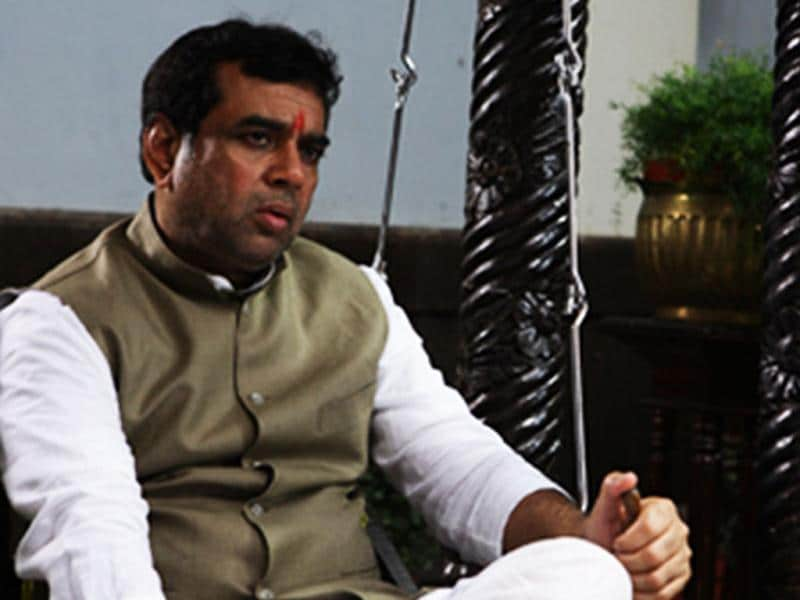 Paresh Rawal plays a prominent political figure from Ghaziabad in the movie.