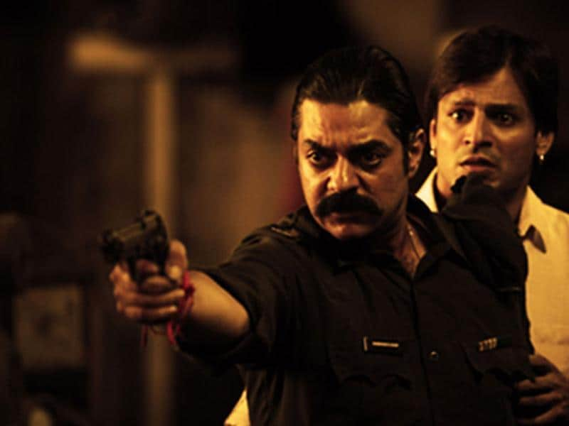 Chandrachur Singh has done a cameo for the film. Vivek Oberoi and Chandrachur Singh from a still of Zila Ghaziabad.