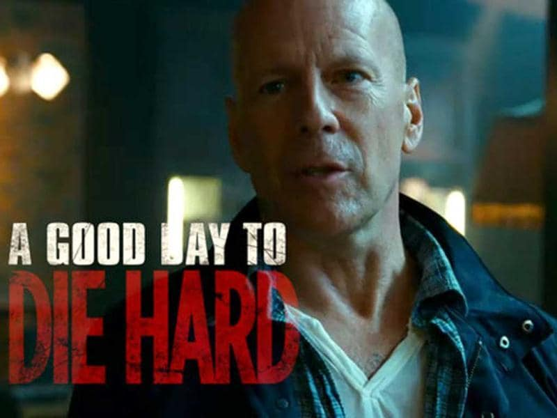 A Good Day To Die Hard releases in India today. The movie topped world box office charts with an earning of $86.5 million on February 18. Take a look at stills from the fifth installment of the action movie that made the character of John McClane famous.