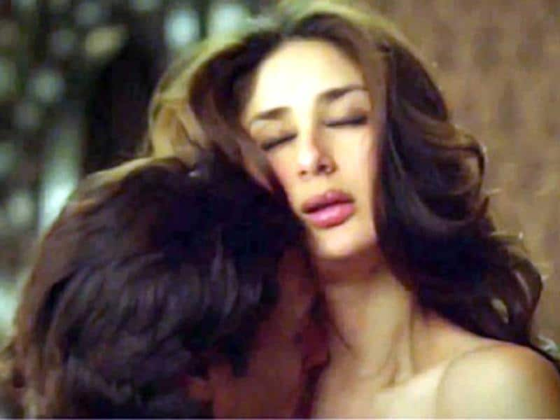 Kareena Kapoor was seen in a bold role for the first time in Heroine. She had quite explicit scene with Arjun Rampal.