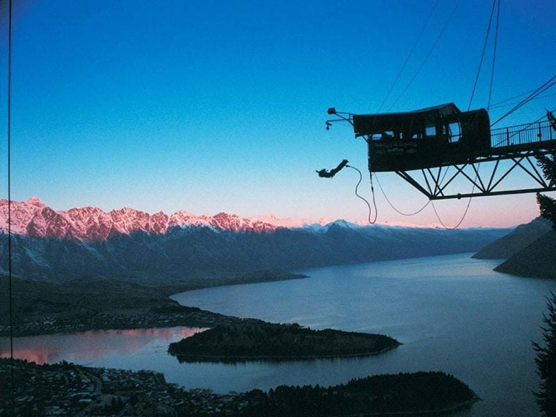 This could be you - on the Ledge Bungy.
