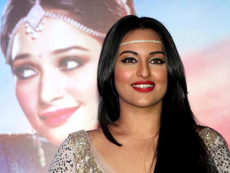 Sonakshi Sinha plays the role of Parveen Babi in the film. AFP Photo