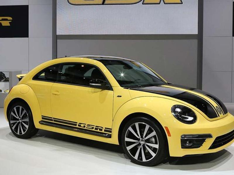 Beetle GSR gets a more powerful engine; colour scheme was used on 1973 GSR Beetle
