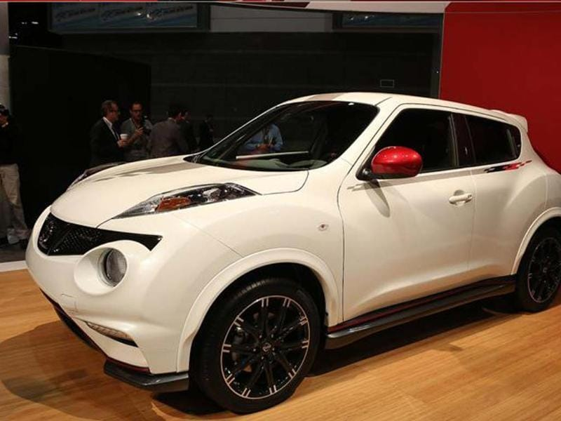 Juke Nismo was launched in the US at Chicago