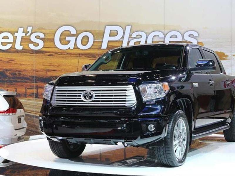 Toyota Tundra is lightly upgraded for 2013
