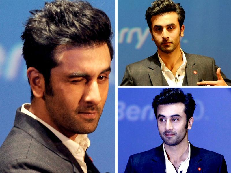 Actor Ranbir Kapoor was in Mumbai on Feb 25 for the country launch of Blackberry Z10. Ranbir Kapoor was at his comic best on Monday. Ranbir Kapoor is also the brand ambassador of Blackberry.