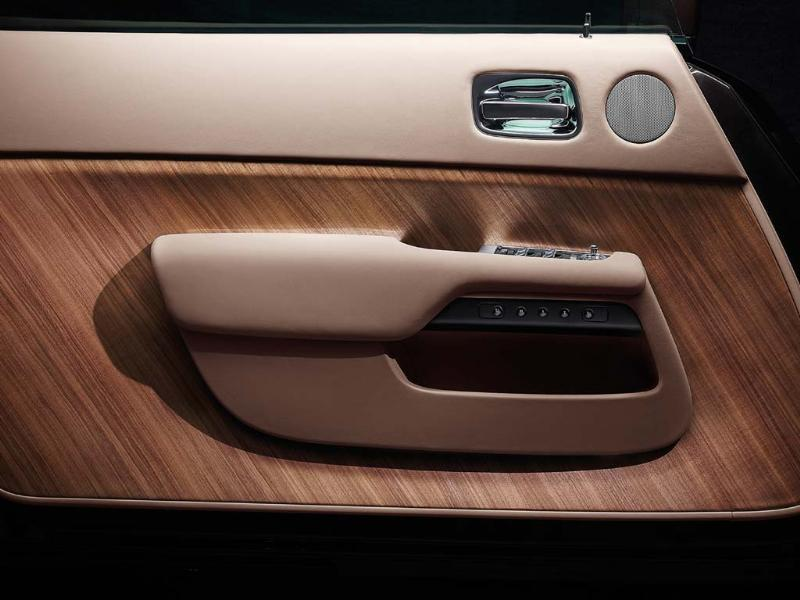 The types of wood and leather chosen for the interior are inspired by luxury yacht building and aeronautical design. Photo:AFP
