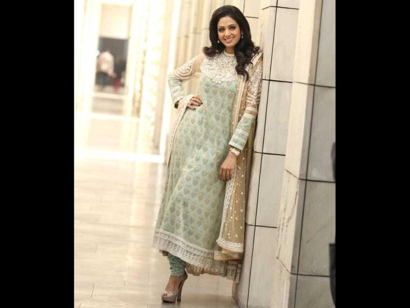 Veteran actress Sridevi looks stunning as she poses for a photoshoot in New Delhi. See her many moods!
