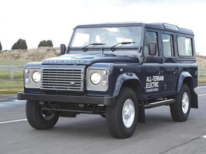 Land Rover to unveil Defender EVs