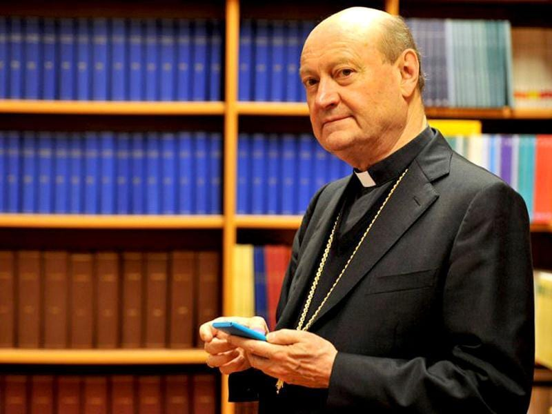 President of the Pontifical Council for Culture since 2007, Cardinal Gianfranco Ravasi, in Rome. (AFP)