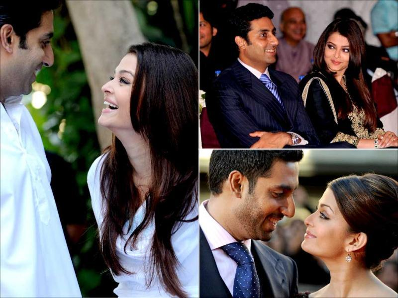 Aishwarya Rai Bachchan and Abhishek Bachchan have been spotted a couple of times sharing their moment in public events. We bring you some of their light moments. Take a look!