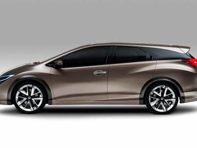Honda Civic Wagon concept revealed