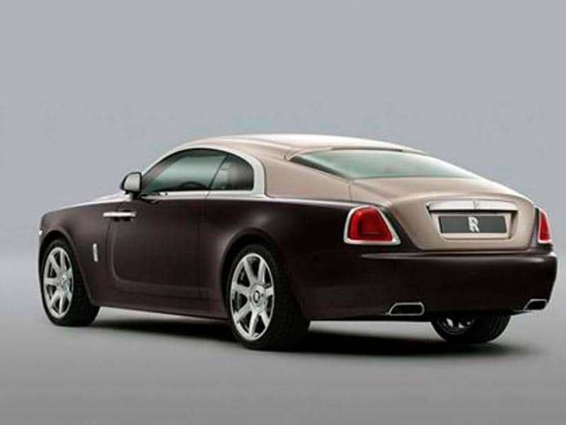 Rolls-Royce Wraith revealed