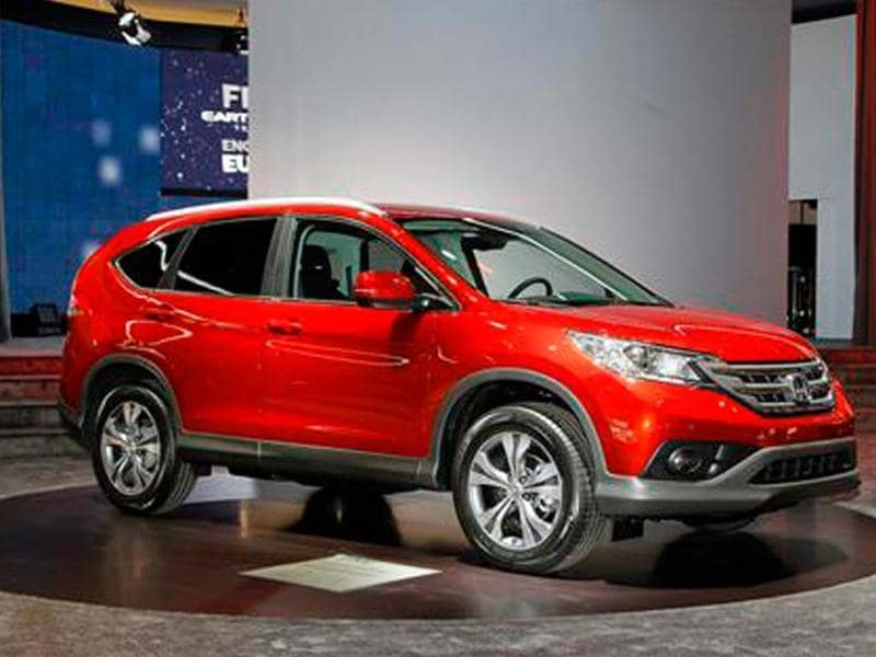 Honda showcases diesel CR-V at Geneva