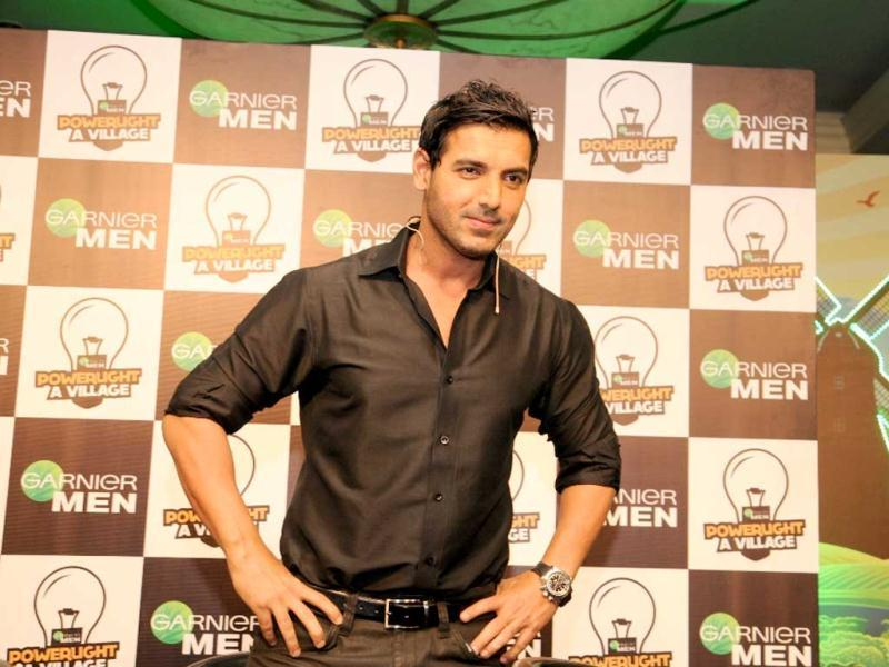 Bollywood star John Abraham has joined hands with beauty brand Garnier Men in a unique social campaign – PowerLight a Village with an aim to light up hundreds of villages in India that are without any electricity.