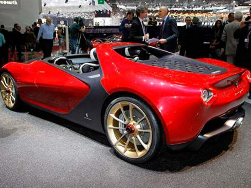 Pininfarina Sergio concept showcased at Geneva