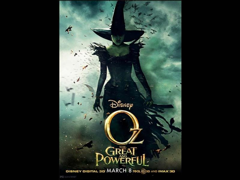 Rachel Weisz will also be playing the evil Green Witch in Oz: The Great and Powerful Wizard.
