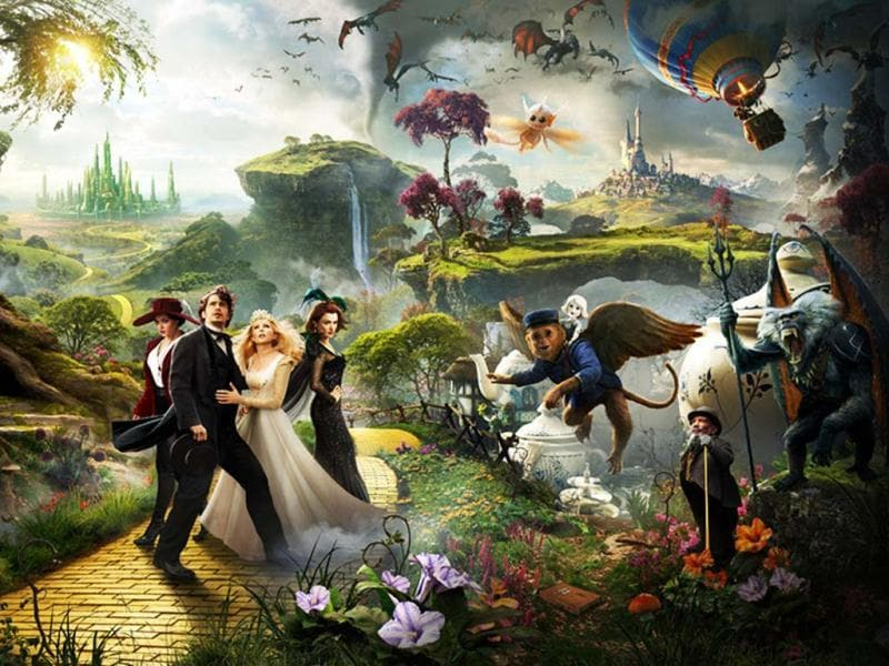 Star-studded film Oz: The Great and Powerful Wizard is here and it sure seems magical! As James Franco dons the hat of the famous wizard in Sam Raimi's film, check out the other starry beauties in the film.