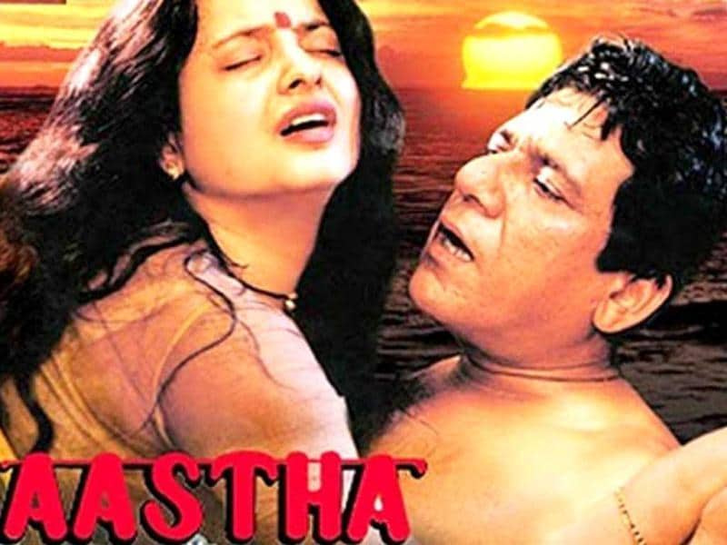 The love making scenes of Rekha and Om Puri were path breaking in Aastha. Here was one housewife (Rekha) visibly enjoying sex. In a society where only men should be enjoying, this was a big leap forward.