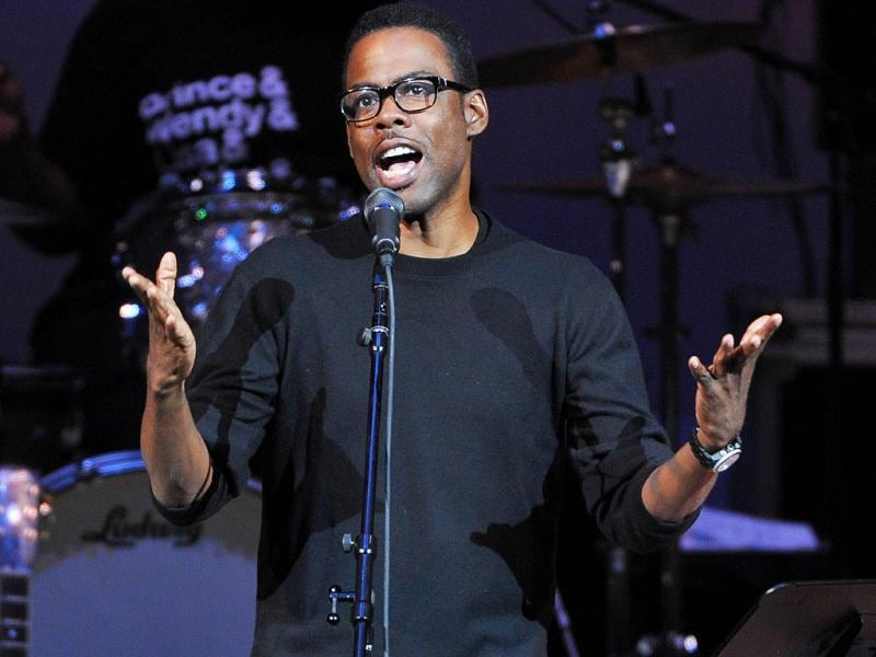 Chris Rock performs at The Music of Prince tribute concert at Carnegie Hall in New York. (AP)